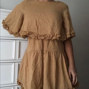 Princess Polly Mustard Dress 💗